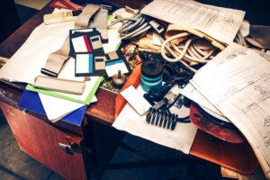don't get organized