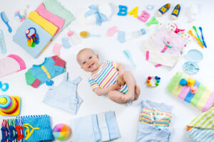 organizing for new baby