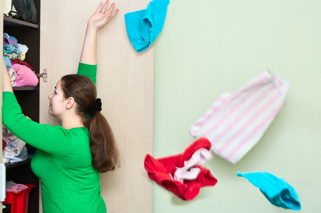 clean out your closets